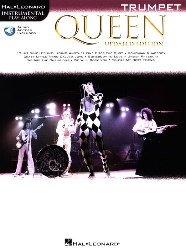 Updated Edition - Trompette - Queen - Partition - laflutedepan.com