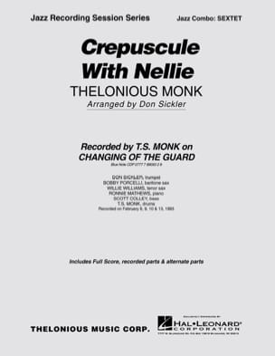Crepuscule With Nellie - Thelonious Monk - laflutedepan.com
