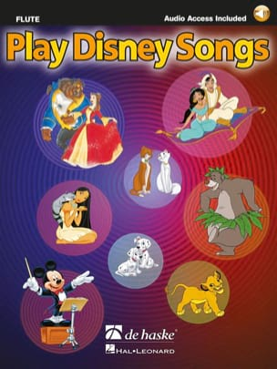 Play Disney songs DISNEY Partition Flûte traversière - laflutedepan