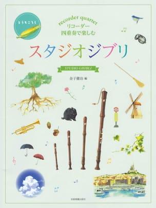 Joe Hisaishi - Recorder Quartets from Ghibli Studio (Hayao Myazaki Films) - Partition - di-arezzo.co.uk