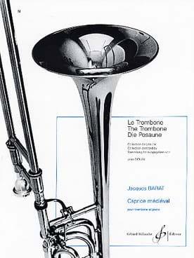 Caprice Médiéval Jacques Barat Partition Trombone - laflutedepan