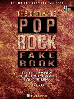 The Ultimate pop rock fake book Ut Partition Jazz - laflutedepan