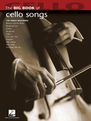 The Big Book of Cello Songs Partition Violoncelle - laflutedepan