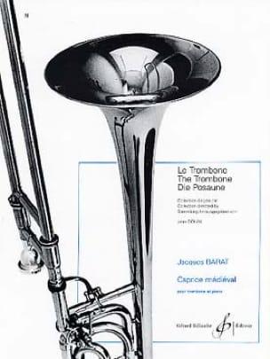 Caprice Médiéval - Jacques Barat - Partition - laflutedepan.com