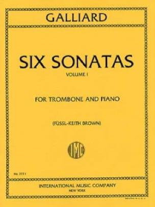 Six Sonatas Volume 1 - John E. Galliard - Partition - laflutedepan.com
