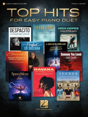 Top Hits for Easy Piano Duet Partition Piano - laflutedepan