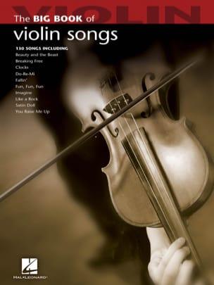 The Big Book of Violin Songs Partition Violon - laflutedepan