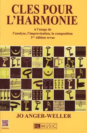Clés pour l'harmonie Jo Anger-Weller Partition Harmonie - laflutedepan