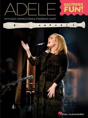 Adele - Recorder Fun! Adele Partition Flûte à bec - laflutedepan