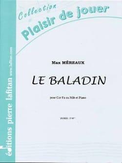 Le Baladin Max Méreaux Partition Cor - laflutedepan