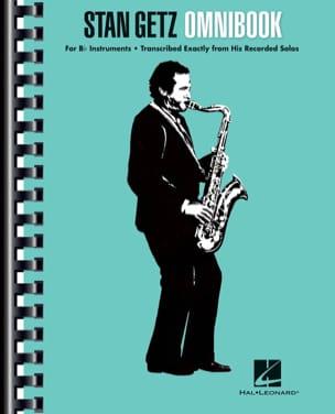 Stan Getz - Omnibook Bb Stan Getz Partition Saxophone - laflutedepan