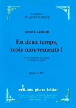 En deux temps, trois mouvements ! Gérard Lenoir Partition laflutedepan