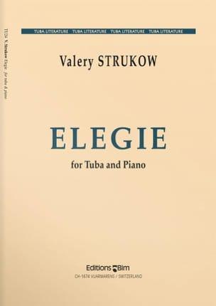 Elégie Valery Strukow Partition Tuba - laflutedepan