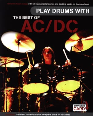 Play Drums With... The Best Of AC/DC AC-DC Partition laflutedepan