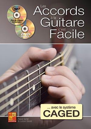 Les accords à la guitare c'est facile... avec le système CAGED - laflutedepan.com