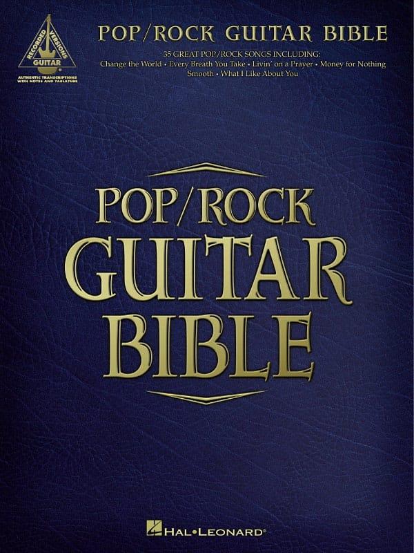 Pop / Rock Guitar Bible - Partition - Guitare - laflutedepan.com