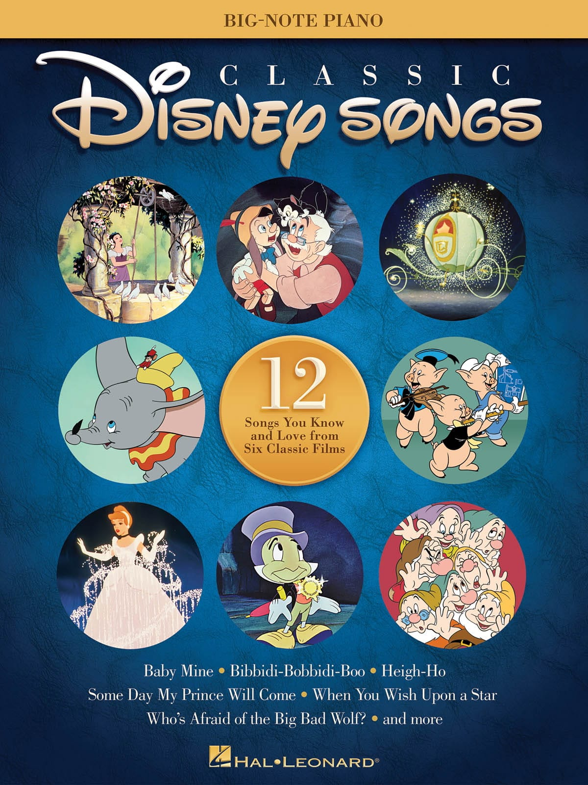 Classic Disney Songs - Big-Note Piano - DISNEY - laflutedepan.com