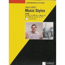 Music Styles Fabrice Dardot Partition Saxophone - laflutedepan