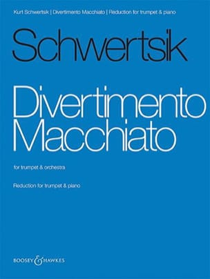 Divertimento Macchiato - Kurt Schwertsik - laflutedepan.com