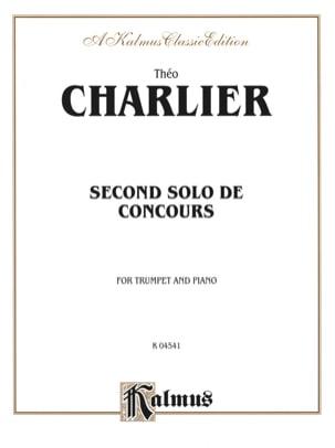 2nd Solo de Concours Théo Charlier Partition Trompette - laflutedepan
