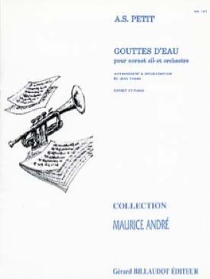 Gouttes D'eau - Alexandre Petit - Partition - laflutedepan.com