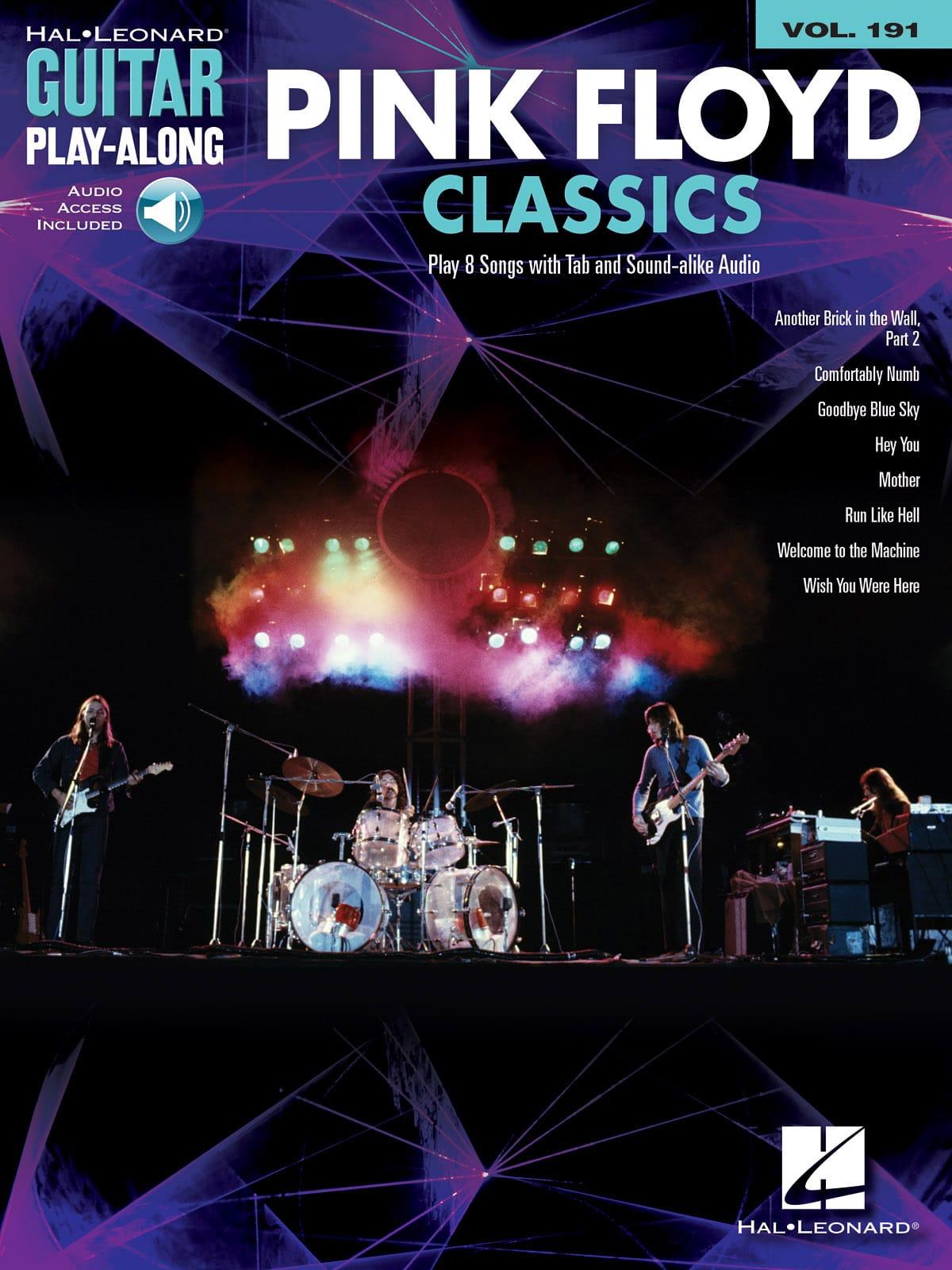 Guitar Play-Along Volume 191 - Pink Floyd Classics - laflutedepan.com