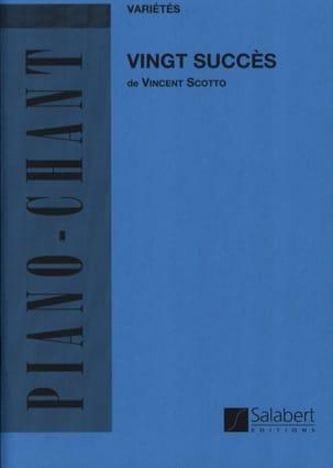 20 Succès - Vincent Scotto - Partition - laflutedepan.com