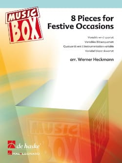 8 Pieces for festive occasions - music box Partition laflutedepan