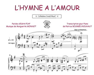 Edith Piaf - The Hymn to Love - Partition - di-arezzo.co.uk