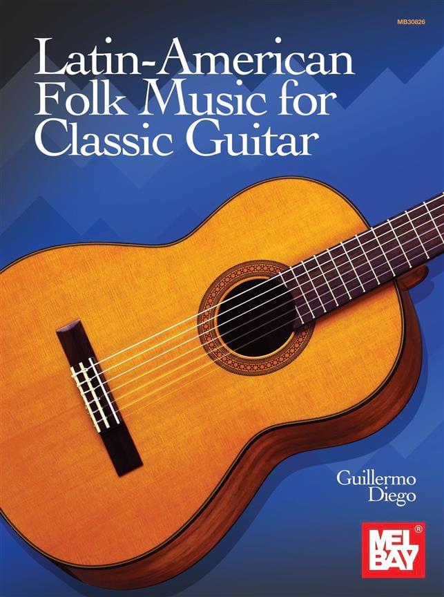 Latin-American Folk Music for Classic Guitar - laflutedepan.com
