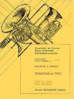 Sonatine En Trio Maurice Bardin Partition laflutedepan