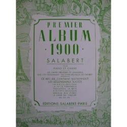 Premier Album 1900 Volume 1 Partition laflutedepan