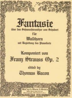 Fantasie Valse de Schubert Opus 2 Franz Strauss Partition laflutedepan