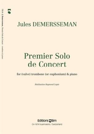 Premier Solo de Concert Jules Demersseman Partition laflutedepan