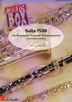 Suite 1500 - music box - Jan De Haan - Partition - laflutedepan.com