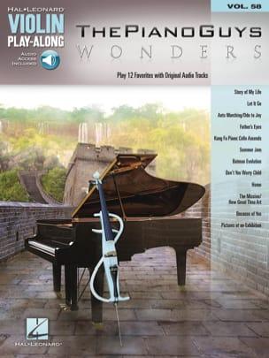 Violin Play-Along Volume 58 - ThePianoGuys Wonders laflutedepan