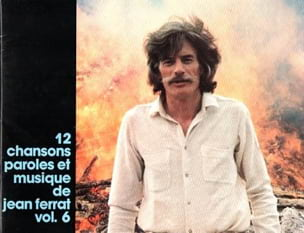 12 chansons - Volume 6 Jean Ferrat Partition laflutedepan