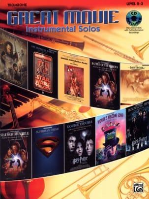 Great movie instrumental solos Partition Trombone - laflutedepan