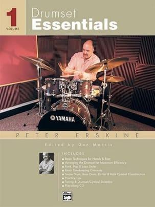 Drumset Essentials Volume 1 - Peter Erskine - laflutedepan.com