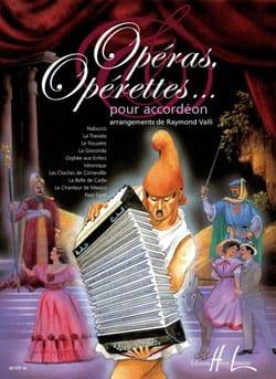 Opéras, Opérettes... Pour Accordéon Partition laflutedepan