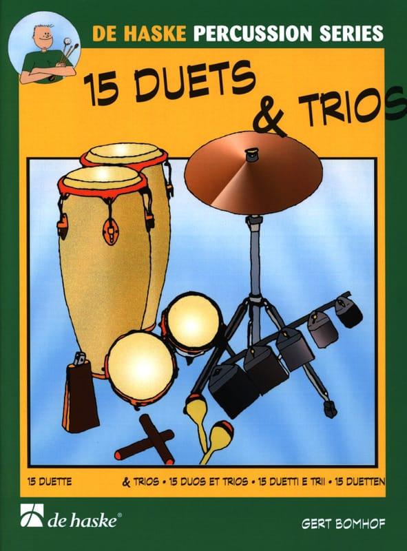 15 Duets & Trios - Gert Bomhof - Partition - laflutedepan.com