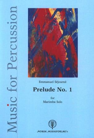 Prélude N° 1 - Emmanuel Séjourné - Partition - laflutedepan.com