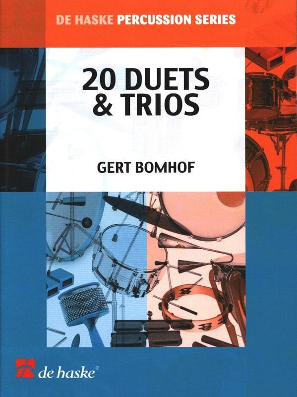 20 Duets & Trios - Gert Bomhof - Partition - laflutedepan.com