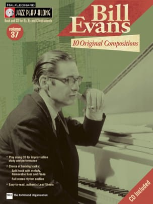 Jazz play-along volume 37 - Bill Evans Bill Evans laflutedepan