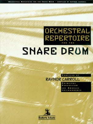 Orchestral repertoire for the snare drum Partition laflutedepan