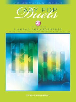 Easy Pop Duets Partition Piano - laflutedepan