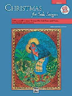 Christmas for Solo Singers - Medium Low Voice Noël laflutedepan