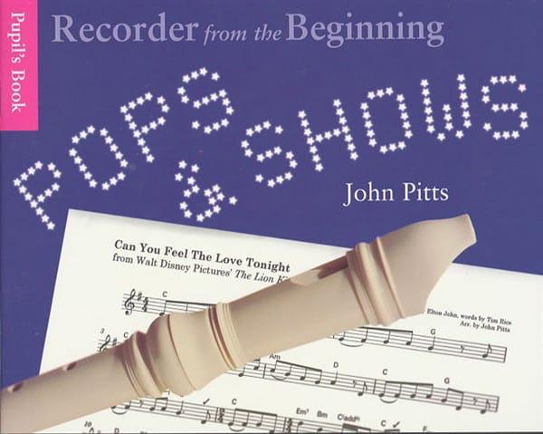 Pops & Shows - Partition - Flûte à bec - laflutedepan.com