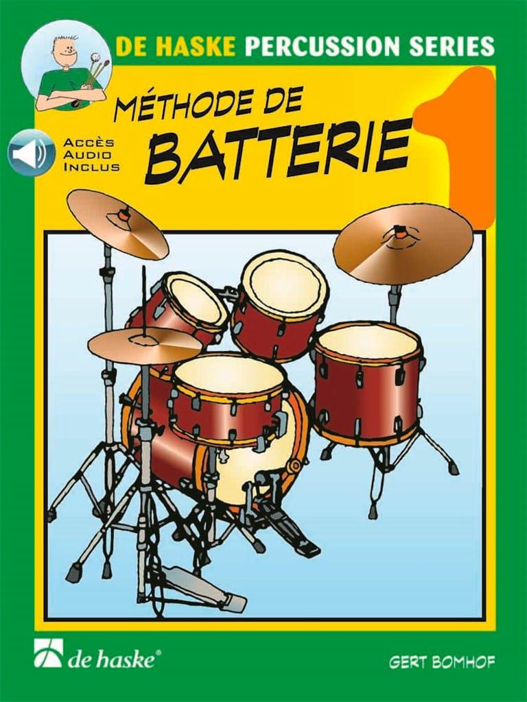 Méthode de Batterie Volume 1 - Gert Bomhof - laflutedepan.com
