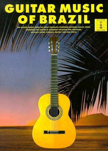 Guitar Music Of Brazil - Antonio Carlos Jobim - laflutedepan.com